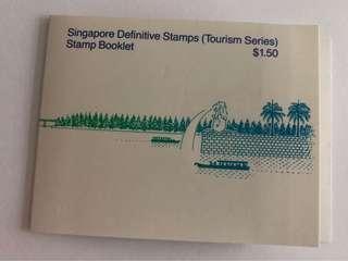 🚚 Singapore 1990 tourism booklet mnh