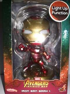 LED 眼 Ironman mark L 鐵甲奇俠 marvel hottoys cosbaby avengers infinity war