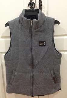 Dolce & Gabbana Puffer Vest Jacket Made in Italy Authentic