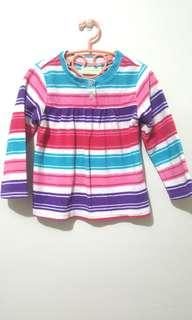 Pink Colorful Long Sleeves