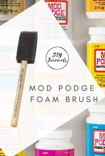 Mod Podge Foam Brush