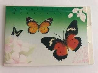 🚚 Singapore 1993 Butterflies booklet mnh