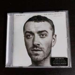 SAM SMITH The Thrill Of It All 港版 Special Edition 全新未拆