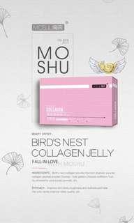 MOSHU BIRDNEST COLLAGEN JELLY ( Box of 10)