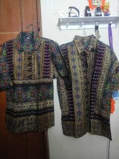 Atasan Batik songket couple