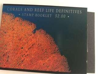 🚚 Singapore 1994 corals & reef life booklet mnh