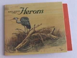 🚚 Singapore 1994 Herons booklet mnh