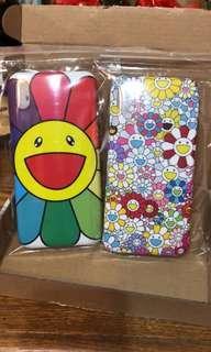 全新 只限郵寄 村上隆 $80 一個 彩色花花 Kailaikiki iPhone case XS MAX 手機殻
