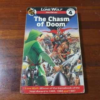 Lone Wolf Book 4 The Chasm Of Doom - Joe Dever