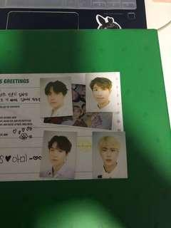 [WTS] BTS SEASON GREETINGS ID PHOTO