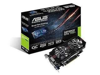 🚚 Asus 750ti Graphics Card