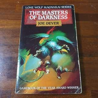 🚚 Lone Wolf Book 12 The Masters Of Darkness - Joe Dever