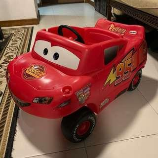 🚚 Little Tikes Kid Sized Lightning McQueen Car