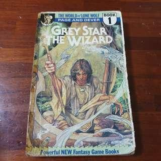 🚚 The World Of Lone Wolf Book 1 Grey Star The Wizard - Ian Page & Joe Dever