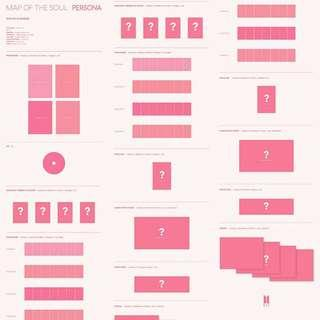 BTS AlBUM MAP OF THE SOUL : PERSONA