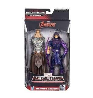 Marvel Legends Avengers Hawkeye Figure With BAF
