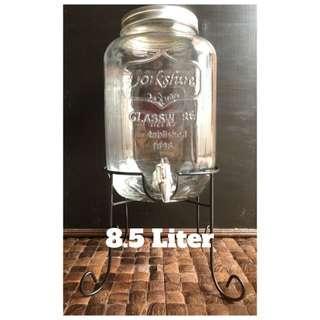 Yorkshire Party Drink Glass Dispenser 8.5 Liter / Dispenser Minuman Kaca