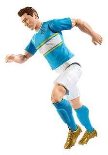 "Lionel Messi ARGENTINA jersey 12"" Soccer action Figure"