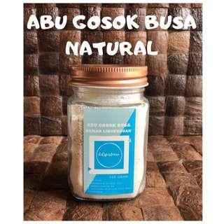 Abu Gosok Busa Natural Lilspistacio /Pembersih Keramik dan Panci Alami