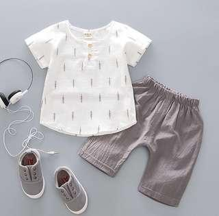 Boy shirt & pants set