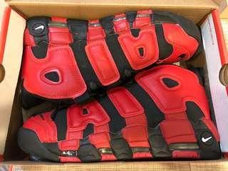 🚚 零碼出清US10 NIKE AIR MORE UPTEMPO奧運款Olympic大AIRpippen復刻氣墊籃球鞋