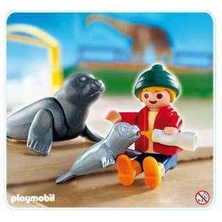 Playmobil Special 4660 Child With Seals