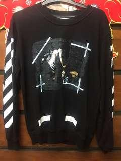 Sweater Off White marbel
