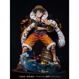 Unique Art Studio 'ONE PIECE' Monkey D. Luffy One Piece Log Collection Statue