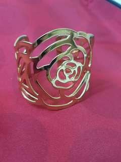 Gold Rose Bangles