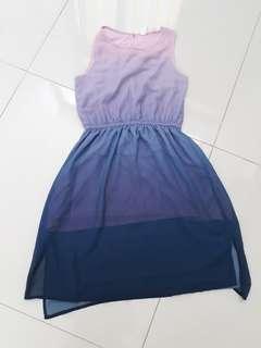 Dress H&M ungu