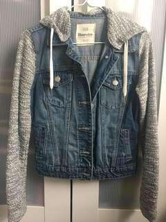 Jean hooded jacket