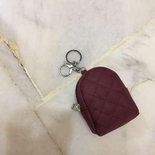 Tiny Backpack Coin Purse/Keychain