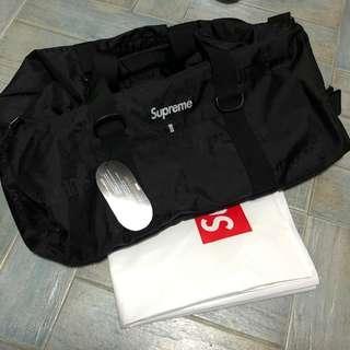 Supreme ss19 duffel bag. Item on hand.
