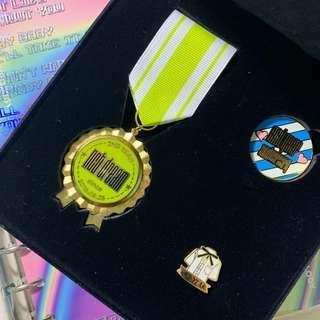 🚚 nct dream 2nd anniversary badge set