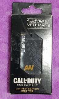 PS3 Call of Duty Advanced Warfare Dog Tag