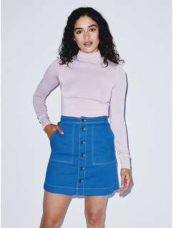 American Apparel 👖 Denim Pocket Skirt