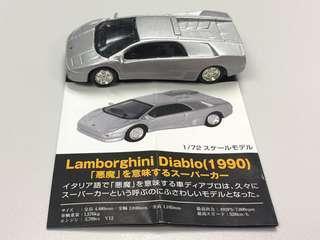 Hot Wheels 絕版 1/72 Lamborghini Diablo 合金車仔