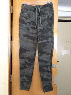 Army (green) joggers