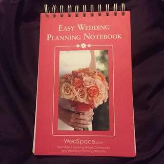 Easy wedding Planning notebook