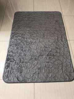 IKEA Rug, low pile, gray