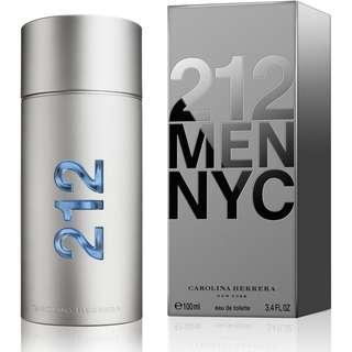 212 men - nyc carolina herrera - perfume for men