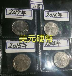 $38特價至$……美元硬幣