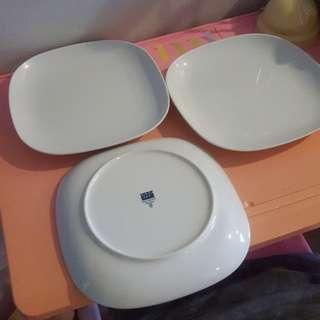 Ikea serving plates bundle 12 pc