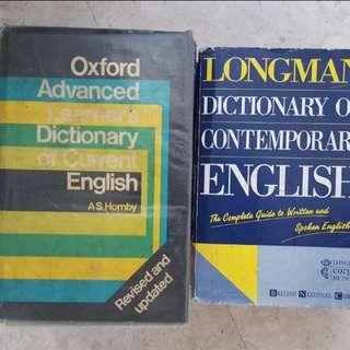 English Dictionary oxford longman