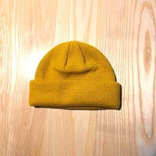 🚚 ASOS 芥黃短毛帽