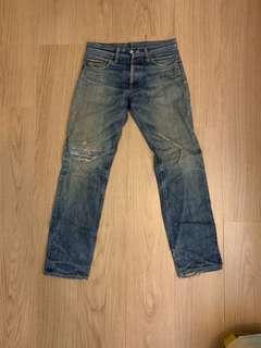 levis 501 red line jeans 牛仔褲