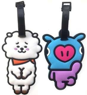 CLEARANCE!! BT21 Luggage Tag