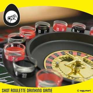 Shot roulette drinking games