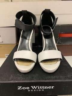 Zoe Wittner Block Heels Size 38