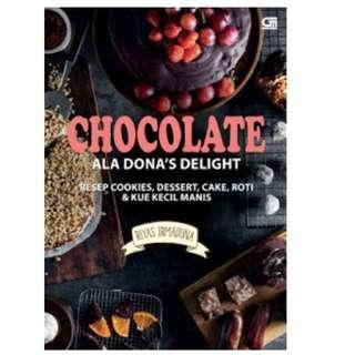 Ebook Chocolate Ala Dona's Delight - Riyas Irmadona